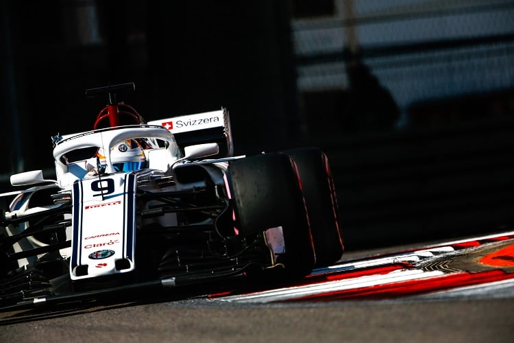 Marcus Ericsson - Alfa Romeo Sauber F1 Team - Sochi Autodrom