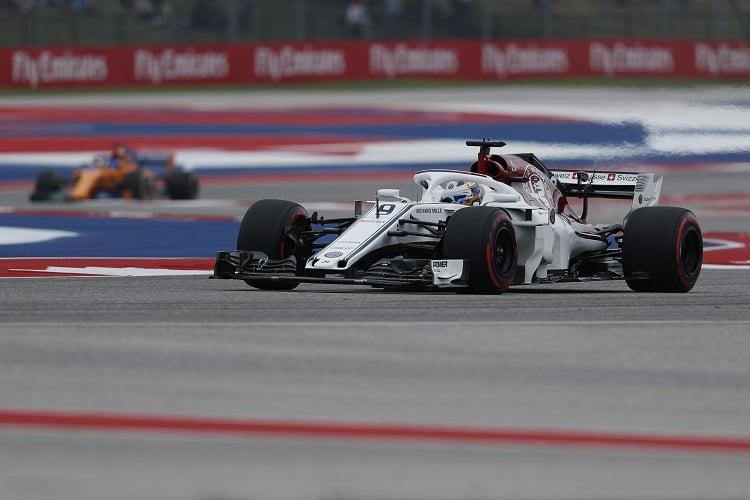 Marcus Ericsson - Alfa Romeo Sauber F1 Team - Circuit of the Americas