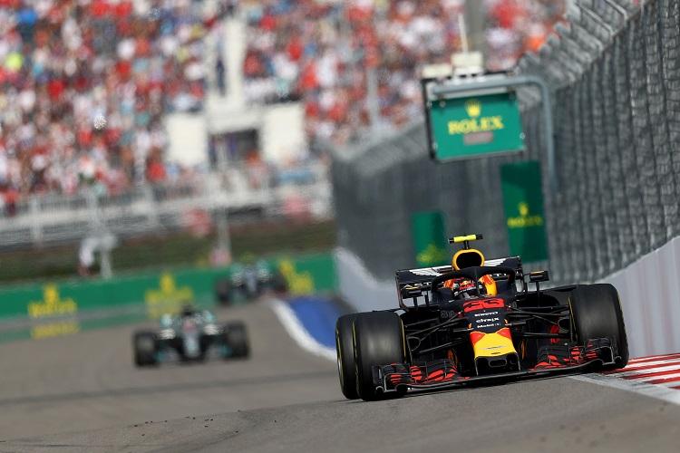 Max Verstappen - Aston Martin Red Bull Racing - Sochi Autodrom