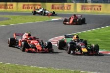 Max Verstappen & Kimi Räikkönen - Aston Martin Red Bull Racing & Scuderia Ferrari - Suzuka International Racing Course