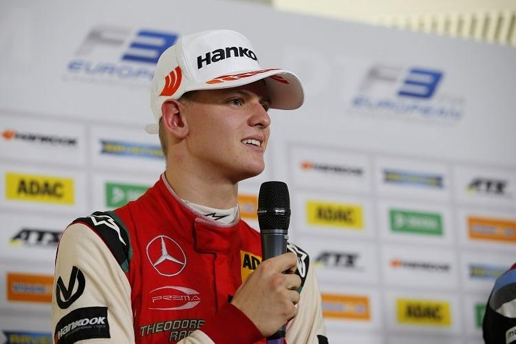 Mick Schumacher - Prema Theodore Racing - Hockenheimring