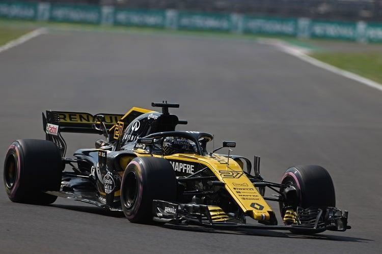 Nico Hülkenberg - Renault Sport Formula One Team - Autodromo Hermanos Rodriguez