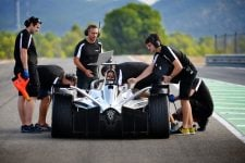 Nissan Formula E Team testing