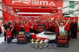 PREMA Title Celebrations Hockenheim II