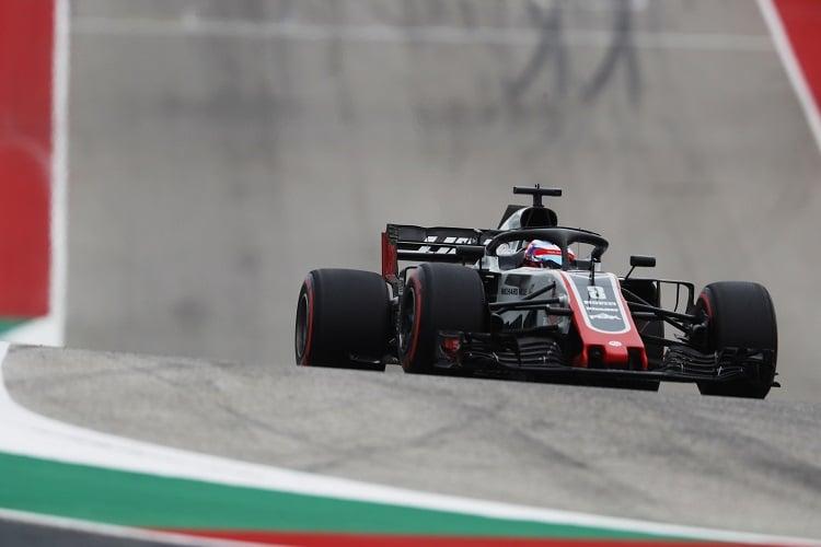 Romain Grosjean - Haas F1 Team - Circuit of the Americas