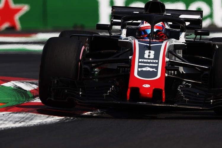 Romain Grosjean - Haas F1 Team - Autodromo Hermanos Rodriguez