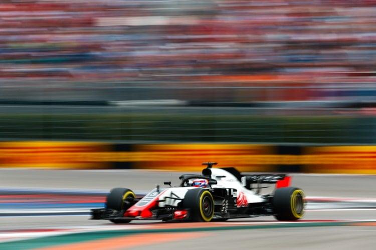 Romain Grosjean - Russian Grand Prix