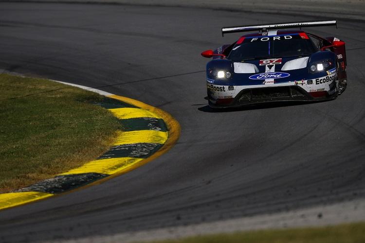 Ryan Briscoe, Richard Westbrook & Scott Dixon - Ford Chip Ganassi Racing - Petit Le Mans