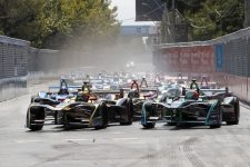 2018 Santiago E-Prix Race Start