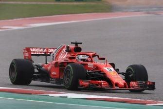 Sebastian Vettel - United States Grand Prix - F1