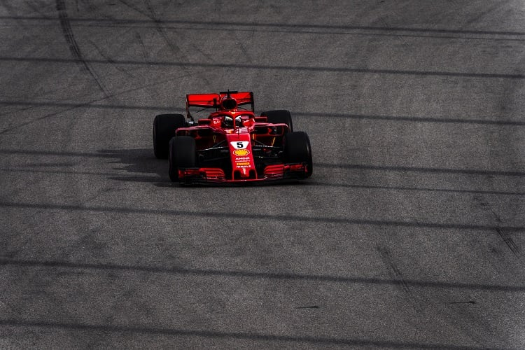 Sebastian Vettel - Scuderia Ferrari - Sochi Autodrom
