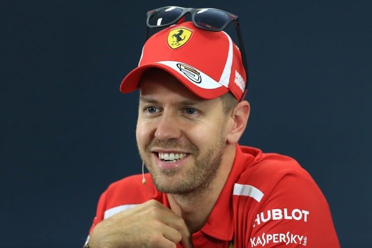 Sebastian Vettel - Scuderia Ferrari - Suzuka International Racing Course