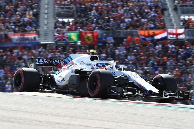 Sergey Sirotkin - Williams Martini Racing - US GP