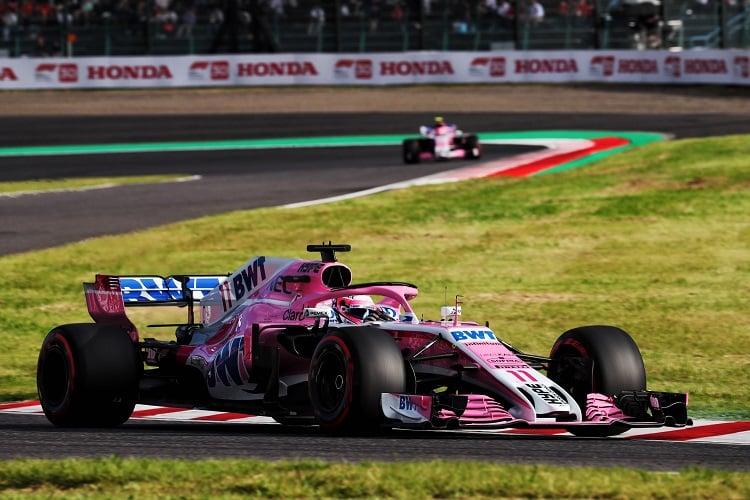 Sergio Pérez - Racing Point Force India F1 Team - Suzuka International Racing Course
