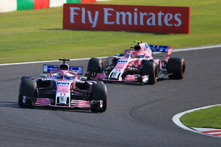 Sergio Pérez & Esteban Ocon - Racing Point Force India F1 Team - Suzuka International Racing Course