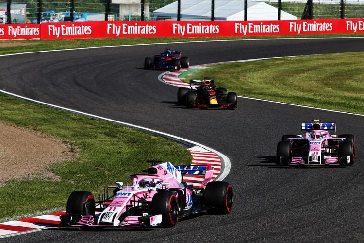 Sergio Perez - Japanese Grand Prix - F1