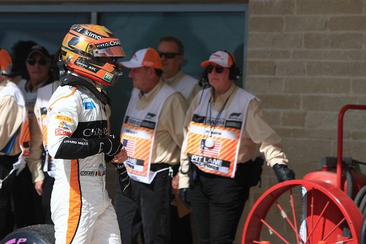 Stoffel Vandoorne - McLaren F1 Team - Circuit of the Americas