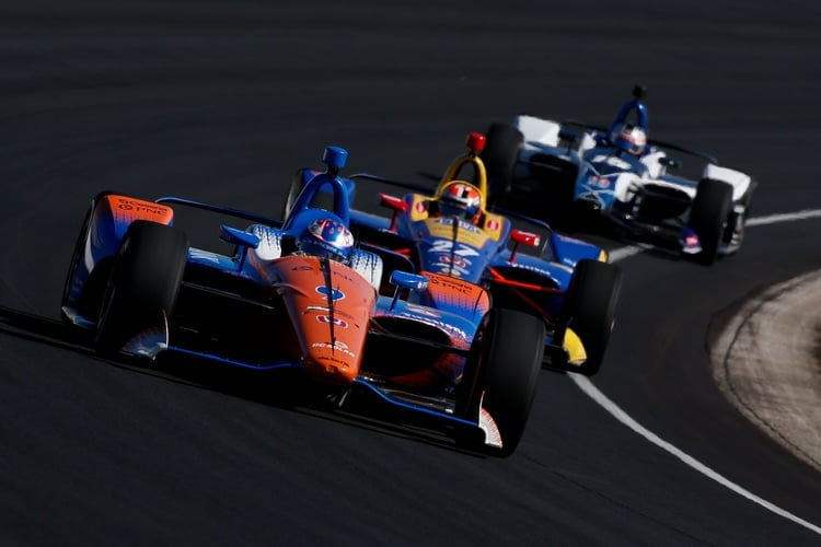 Scott Dixon (NZL), Chip Ganassi Racing, 2018 IndyCar Series, 2019 Indianapolis test