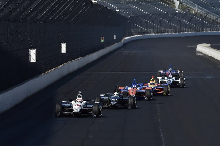 2018 IndyCar Series, 2019 Indianapolis test