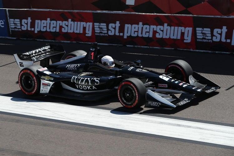 Jordan King (GBR), 2018 Verizon IndyCar Series, Ed Carpenter Racing, St. Petersburg