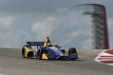 Alexander Rossi (USA), Andretti Autosport, IndyCar Series, Circuit of the Americas 2018 Test