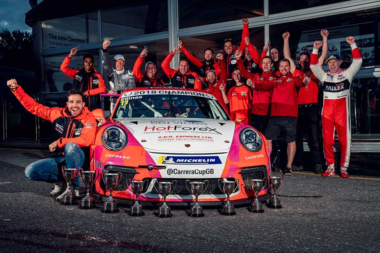 Tio Ellinas - Slidesports - Porsche Carrera Cup GB