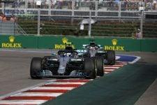 Valtteri Bottas & Lewis Hamilton - Mercedes AMG Petronas Motorsport - Sochi Autodrom