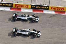 Lewis Hamilton & Valtteri Bottas - Mercedes AMG Petronas Motorsport - Sochi Autodrom