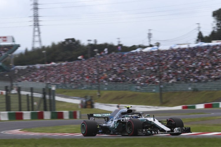 Valtteri Bottas - Japanese Grand Prix - F1