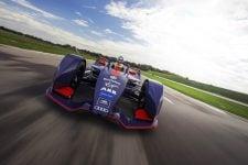 Envision Virgin Racing demo run