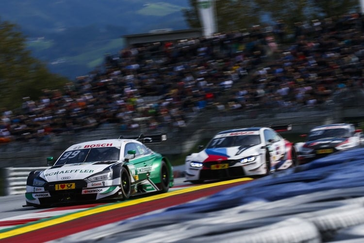 Mike Rockenfeller, Marco Wittmann and Loïc Duval: 2018 DTM Series - Red Bull Ring