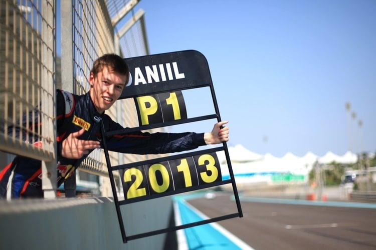 Daniil Kvyat: 2013 GP3 Series - Yas Marina Circuit