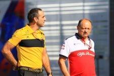Cyril Abiteboul & Frédéric Vasseur - Formula 1 - 2019 Japanese GP