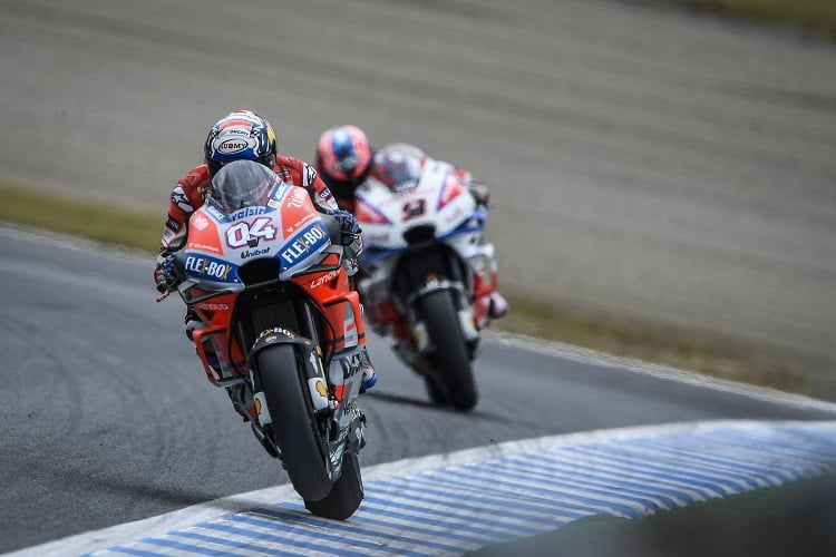 Dovizioso Tops Motegi FP1 as Lorenzo Pulls Out - The Checkered Flag ba457ad7b93
