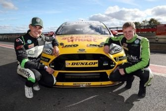 Dunlop. Nathan Harrison, Ant Whorton-Eales and Motorbase