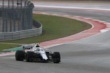 Sergey Sirotkin - Formula 1 - 2018 United States GP