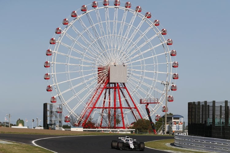 Lance Stroll - Williams Martini Racing - Suzuka