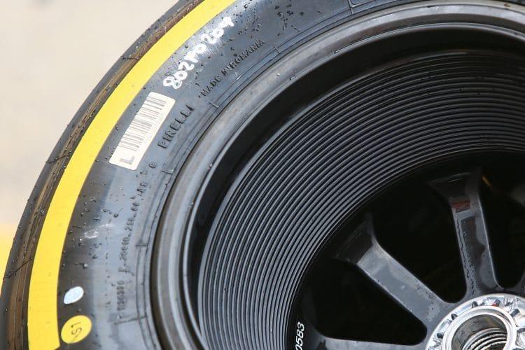 Pirelli - Yellow Tyre
