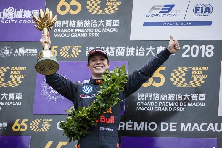 Dan Tickum - Macau Grand Prix