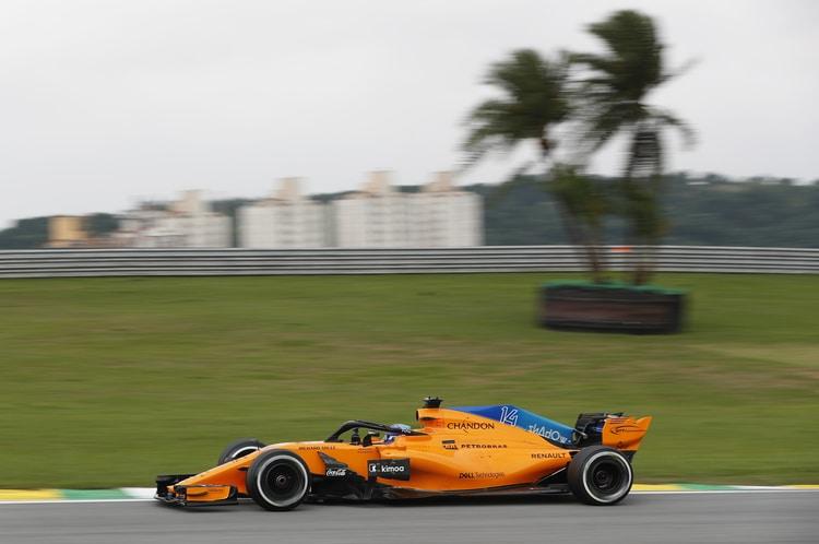 Fernando Alonso - McLaren F1 Team - Brazil GP