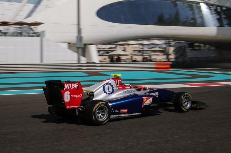 Giuliano Alesi - 2018 GP3 Series - Yas Marina Circuit