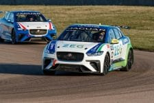 Jaguar I-Pace eTrophy pre-season testing, Rockingham Motor Speedway
