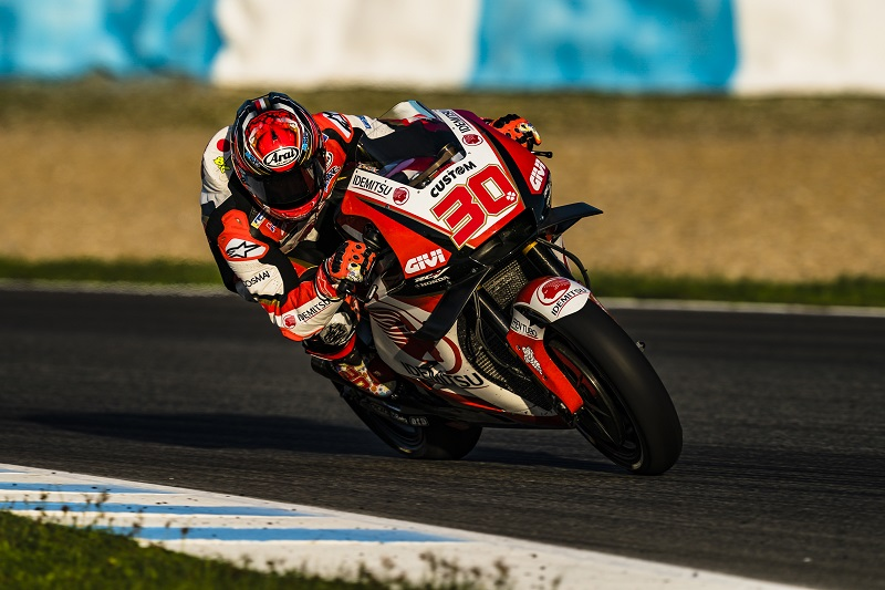 Nakagami Springs Surprise as Jerez Test Draws to a Close - The ... 24e8c009e91