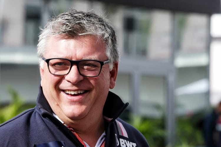 Otmar Szafnauer - Racing Point Force India F1 Team - Team Principal & CEO