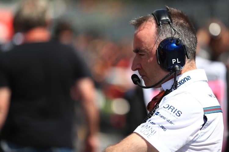 Paddy Lowe - Williams Martini Racing - F1
