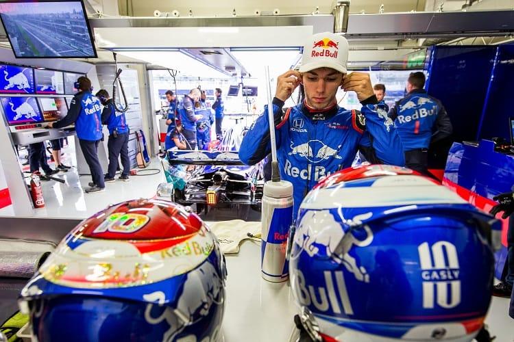 Pierre Gasly - Red Bull Toro Rosso Honda - Autodromo Hermanos Rodriguez