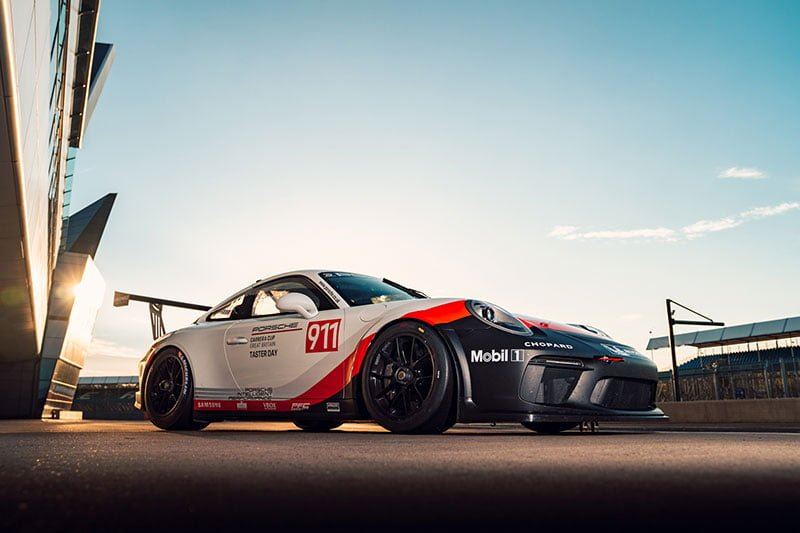 Record 26 drivers take part in Porsche Carrera Cup GB taster day
