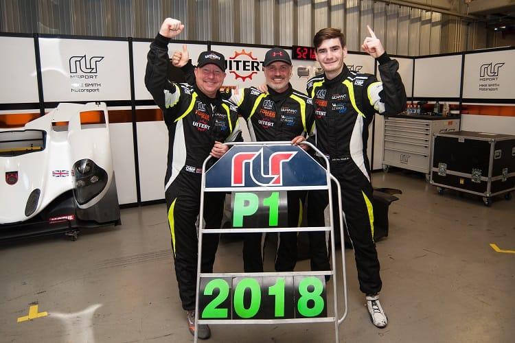 RLR MSport Trio Celebrate after Clinching LMP3 Title in Portimao Showdown