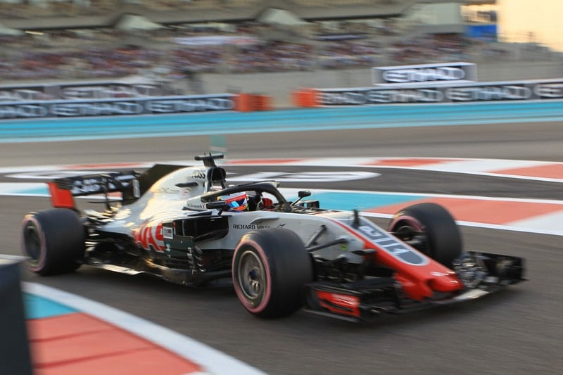 Romain Grosjean - Abu Dhabi Grand Prix - F1