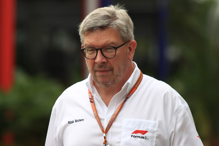 Ross Brawn Singapore 2018